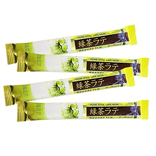 Jardin Home Style Cafe Mori Green Tea Latte Instant Mix Packets 15g (50 Sticks) ()