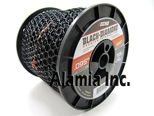 Echo New Black Diamond .095 Commercial Trimmer Line 3-Lbs. Medium Spool 885 Feet (Trimmer New)