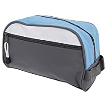 Shugon Bilbao Toiletry Bag (One Size) (Dark Grey/Light Blue/Whit)