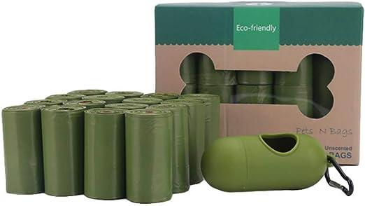 ZJ Bolsa de baño Biodegradable para Mascotas, Bolsa de Basura de ...