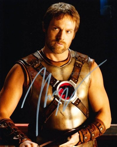 MICHAEL SHANKS as Carter Hall / Hawkman - Smallville Genuine Autograph from Celebrity Ink