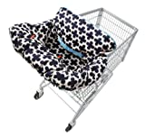Infantino Lil' Fluff Cart and Highchair Cover Blue/White, Baby & Kids Zone