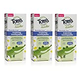 Beauty : Tom's of Maine Toddlers Fluoride-Free Natural Toothpaste in Gel, Mild Fruit, 1.75 Ounce, 3 Count
