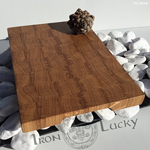 Cutting Board is made from natural solid oak and made by hand!