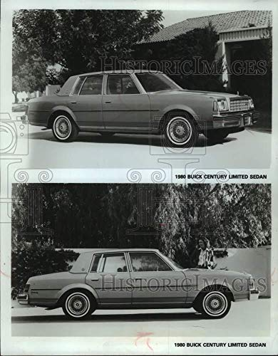 (1979 Press Photo A 1980 Buick Century Limited Sedan. - mjc35178 - Historic Images)