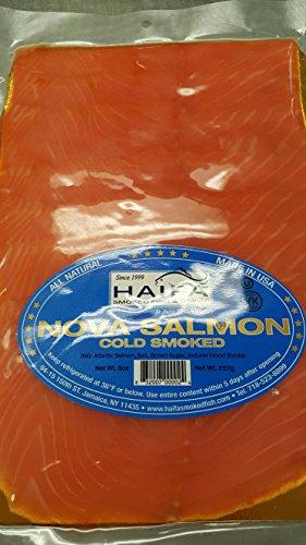 (Cold Smoked Atlantic Salmon)