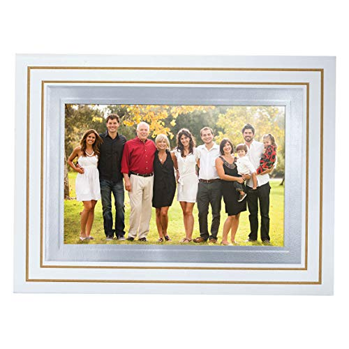 Simply Classic White Photo Christmas Card Set of 18