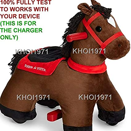 8-FT WALL charger AC adapter FOR 985 Radio Flyer Lightning Horse plush ride on