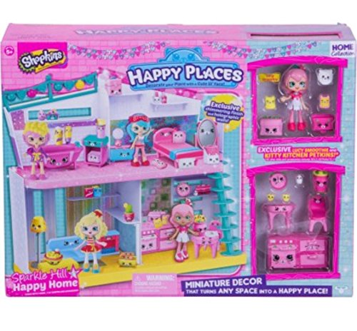 10th Place (Shopkins Happy Places Sparkle Hill Happy Home with Exclusive Lucy Smoothie)