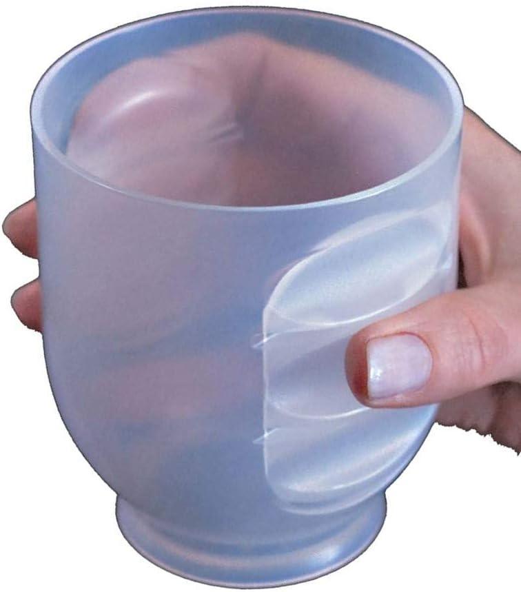 Marusya Inc's No-Slip Easy Grip Cup. 12oz. Set of 4.: Kitchen & Dining