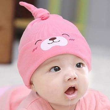 Sombrero de algodón unisex para bebés, gorros de dormir, gorros ...