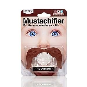 Mustachifier - The Cowboy Mustache Pacifier