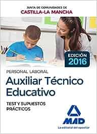 Auxiliar Técnico Educativo Personal Laboral De La Junta De