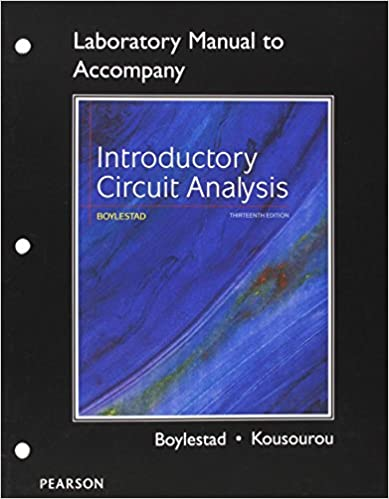 Electronic devices and circuit theory solution manual 11th edition.
