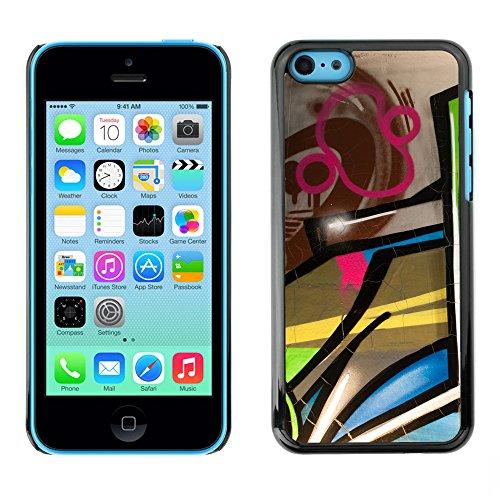Premio Sottile Slim Cassa Custodia Case Cover Shell // V00002304 Graffiti // Apple iPhone 5C