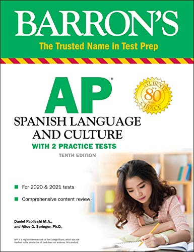 AP Spanish Language and Culture: With 2 Practice Tests (Barron's Test Prep)