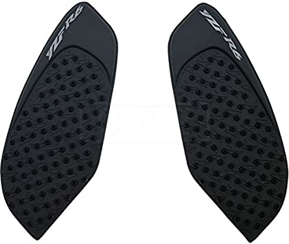 For Yamaha YZF R6 2006 2007 Motorcycle Tank Pad Gas Anti slip Stickers Adhesive Rubber Traction Side Fuel Gas Grip Decal Protector YZFR6 3M Black