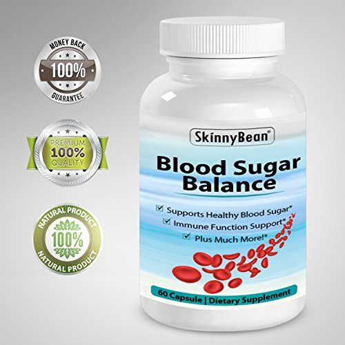 Skinny Bean® BLOOD SUGAR BALANCE supplement. Control Glucose, insulin and Cholesterol.