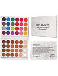 Beauty Glazed 48 Colors Eyeshadow Palette shine & matte...
