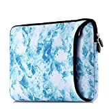Sancyacc 13 Inch Laptop Sleeve, Water-resistant 360°Shockproof Protective Laptop Case with Pocket for Macbook Air/Pro/Retina/Samsung/Sony Notebook Display 12.9 Inch iPad Case Bag 13''(JewelryBlue)
