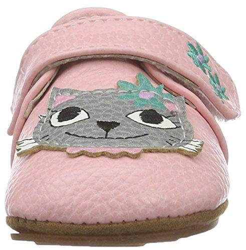 Rose & Chocolat Rcm 1050 - Botas de senderismo Bebé-Niños Pink (Diva Cat Pink)