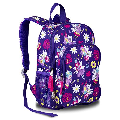 LONECONE Kids' Preschool Backpack for Boys and Girls, Bippity Boppity Backpack (Fairies)