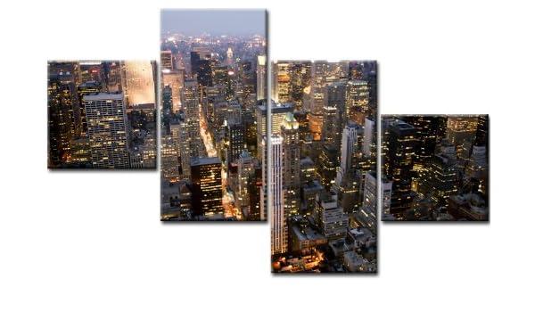 Top imagen sobre lienzo NEW YORK 4 imágenes Número de Referencia ...