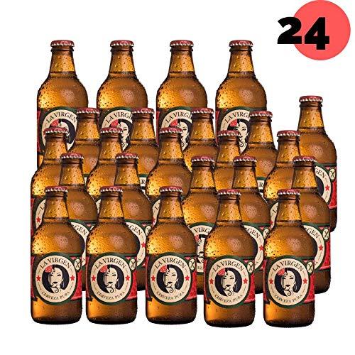 La Virgen Cerveza Artesana Madrid Lager sin Gluten - pack 24 ...
