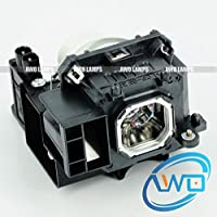 AWO NP16LP Replacement Lamp with Housing Fit for NEC M260WS/M300W/M300XS/M311W/M350X/M361X/M311W