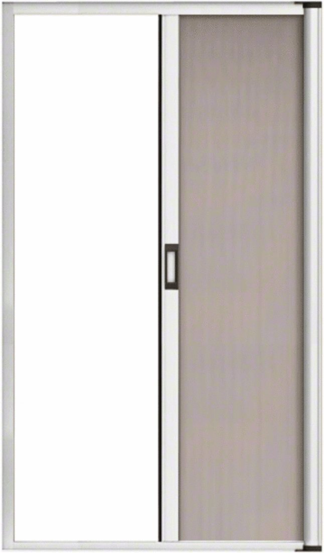 CRL White 96'' Euro Retractable Screen Door Kit