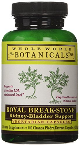 Whole World Botanicals Royal Break-Stone Kidney-Bladder Support 400 mg 120 Vegetarian Capsules