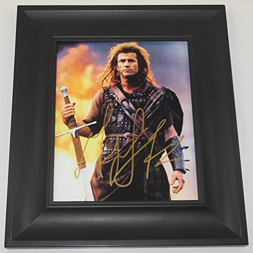 Braveheart Mel Gibson Signed Autographed 8x10 Glossy for sale  Delivered anywhere in USA