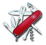 Victorinox Original Swiss Army Climber Pocket Knife (Red)