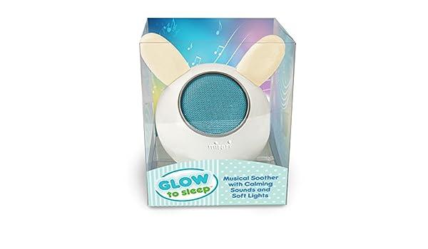Glow para dormir Musical chupete con luces y Bluetooth ...