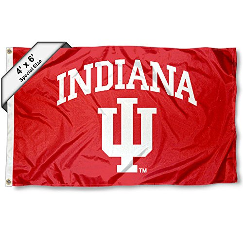 - College Flags and Banners Co. IU Hoosiers 4'x6' Flag