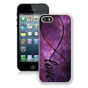 Infinity Love Galaxy iPhone 5 5S Case White Cover 1 Brand New cell phone cases