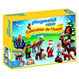Playmobil 1.2.3 Advent Calendar 'Christmas in the Forest' Building Set
