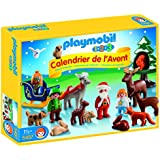 """PLAYMOBIL 1.2.3 Advent Calendar """"Christmas in the Forest"""" Set"""