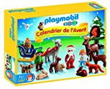 "PLAYMOBIL 1.2.3 Advent Calendar ""Christmas in the Forest"" Set"