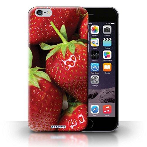 Hülle Case für iPhone 6+/Plus 5.5 / Erdbeere Entwurf / Obst Collection