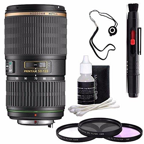 Pentax SMCP-DA 50-135mm f/2.8 ED  SDM Autofocus Lens + 3 Pie