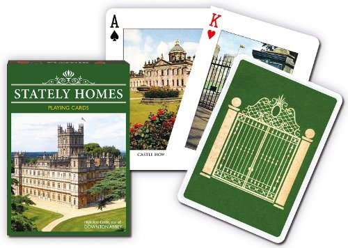 Piatnik Stately Homes Playing Cards
