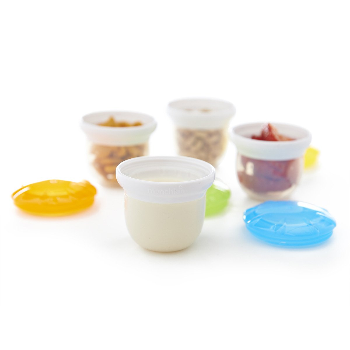 Munchkin 4 Piece Silicone Freezer and Storage Cups by Munchkin (Image #3)