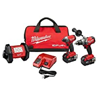 HomeDepot.com deals on Milwaukee M18 Fuel One-Key 18V Combo Kit Bundle