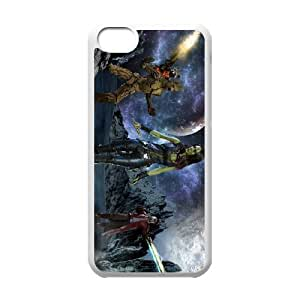 Guardians of the Galaxy iphone5c Black White Phone Case Gift Holiday &Christmas Gifts& cell phone cases clear &phone cases protective&fashion cell phone cases NYRGG69700650