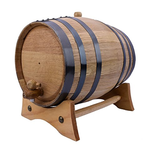 Sofia's Findings 5 Liters-American Oak Aging Barrel | Age Your own Tequila, Whiskey, Rum, Bourbon, Wine - 5 Liter or 1.32 Gallons