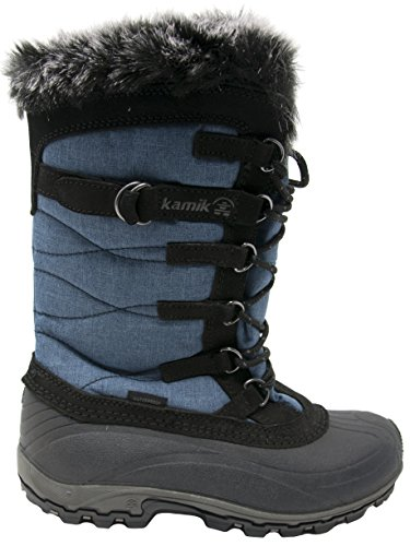 Kamik Womens Snowvalley Boot Blue Jeans