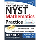 New York State Test Prep: 7th Grade Math Practice Workbook and Full-length Online Assessments: NYST Study Guide