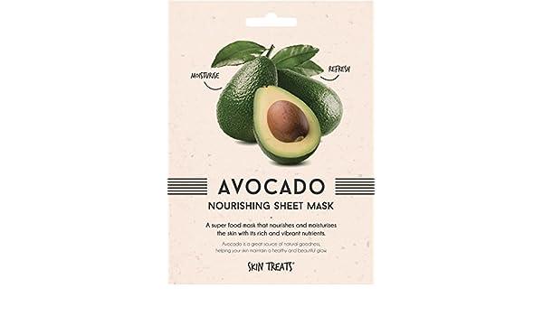 Tratamientos para la piel:, Avocado Nourishing Superfood Sheet Face Mask, 2 unidades de hidratación, nutrición, deja tu piel suave, lisa y limpia, ...