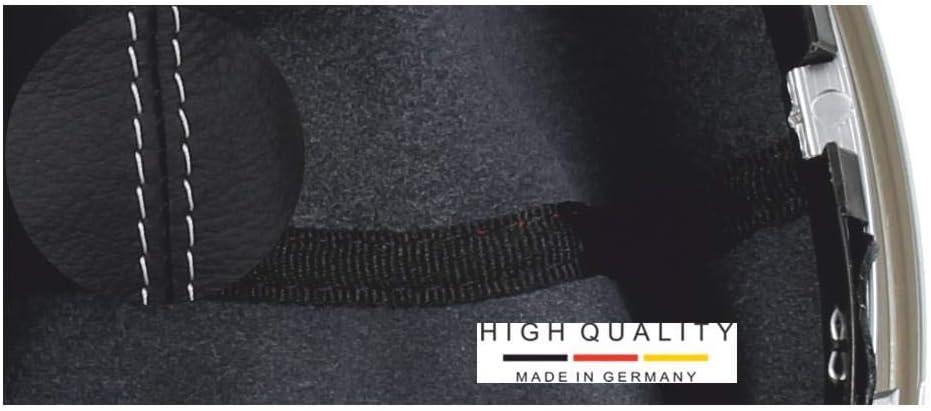 C schwarz 6 gang Komplettset Ersatzteil Made in Germany Original ICT Schaltknauf Schalthebel Schaltsack//Schaltmanschette Leder schwarz 100/% Echtleder